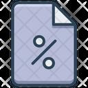 E Commerce Paper Discount Icon