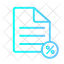 Discount File Document Discount Icon