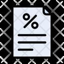 Discount File Offer File File Icon