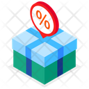 Discount Gift Icon
