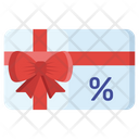 Discount Gift Card Icon