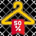 Discount Hanger Discount Hanger Icon