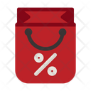 Shop Bag Black Friday Commerce Icon