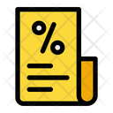Bill Invoice Sale Icon