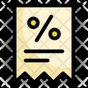 Discount Invoice Invoice Bill Icon