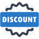 Discount Label Offer Icon