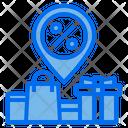 Discount Location Icon