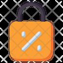 Discount Lock Icon