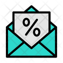 Discount Mail Icon