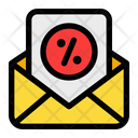 Envelope Letter Discount Icon