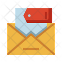 Discount Mail Discount Letter Offer Mail Icon