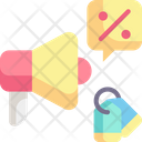 Promotion Megaphone Announcer Icon