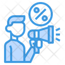 Discount Marketing Advertising Discount Icon