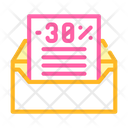 Message Discount Color Icon