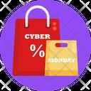Cyber Monday Sale Discount Icon