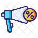 Advertising Promotion Discount Icon