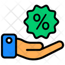 Discount Offering Deduction Reduction Icon