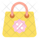 Discount On Bag Discount Bag Shopping Bag Icon
