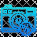 Discount On Camera Camera Offer Camera Sale Icon