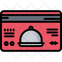 Discount Card Cloche Icon