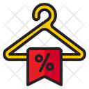 Discount On Clothes Icon