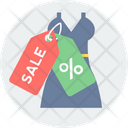Discount On Clothing Icon