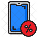 Discount On Smartphone Icon