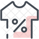 Discount Sale T Shirt Icon