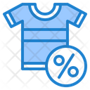 Discount On Tshirt Discount On Clothes Shirt Icon