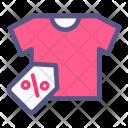 Tshirt Discount Label Icon