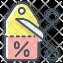 Discount Percent Commerce Icon
