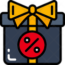 Discount Present Gift Sales Icon