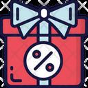 Discount Present Icon