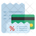 Discount Receipt Discount Atm Ecommerce Icon