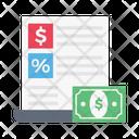 Discount Report Icon