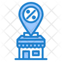 Discount Shop Location Icon