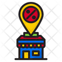 Location Shopping Shop Icon