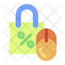 Bag Cyber Monday Shopping Icon