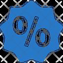 Discount Sticker Label Icon
