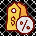 Discount Price Tag Percent Icon