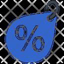 Discount Percent Tag Icon