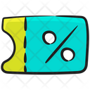 Discount Tag Reduction Exemption Icon