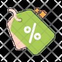 Percent Reward Discount Icon