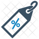 Banner Discount Label Icon