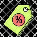 Discounts Prices Happy Icon