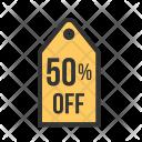 Discount Tag Percent Icon