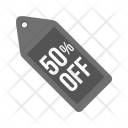 Discount Tag 50 Icon