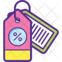 Discount Deduction Reduction Icon