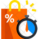 Shopping Time Shopping Discount Shopping Offer Icon