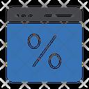 Discount Website Icon